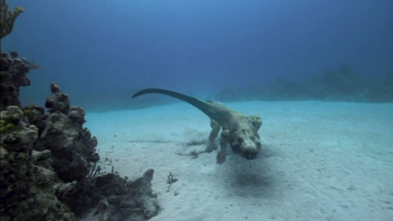 Image   Nothosaurus On Sea Floor.png   Walking With Wikis   FANDOM Powered  By Wikia