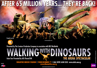 Walking-With-Dinosaur s Wallpaper