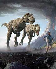 Prehistoric park t-rex