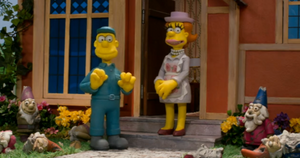 The-Simpsons Wallace