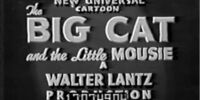The Big Cat and the Little Mousie