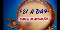 $21 a Day (Once a Month)