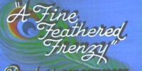 A Fine Feathered Frenzy