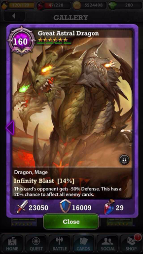 Great Astral Dragon 160