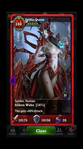 Spider Queen 160