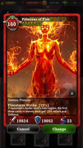 Princess of Fire 160