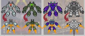 Colossus skins