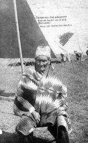 Geronimo, as US prisoner