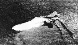 USS Saratoga (CV-3) sinking