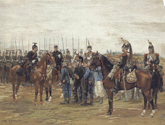 File:Captured Bavarian Soldiers 1870 War.jpg