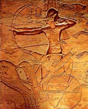 File:Ramses II at Radesh.jpg
