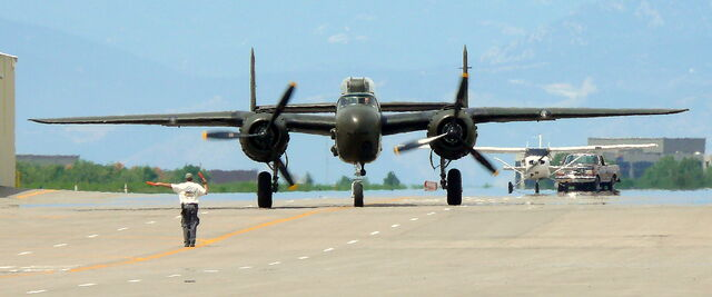 File:B-25 At Centennial.jpg