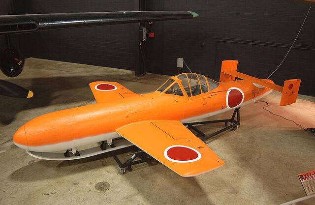 File:Yokosuka MXY7-K1 Ohka Trainer USAF.jpg