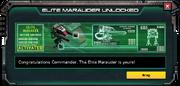 Marauder-Elite-UnlockMessage