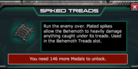 Behemoth Spiked Treads