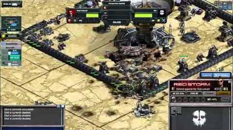 War Commander, Operation Redstorm-Titan and Spire