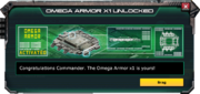 OmegaArmor-UnlockMessage