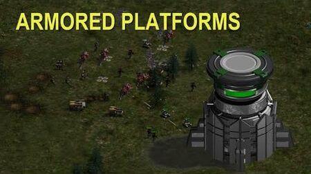 War Commander Armored Platforms!!!