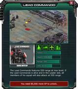 Lead Commando - Event Shop