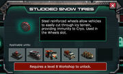 Studded Snow Tires-GearStoreInfo-Locked