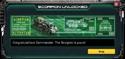Scorpion-UnlockMessage