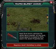 RapidBurstAmmo-EventShop Description