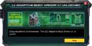 (U)AdaptiveBodyArmor-UnlockMessage