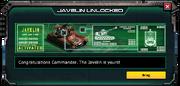 Javelin-UnlockMessage
