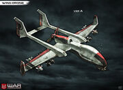 Wing drone by pixel saurus-d5yrqhz