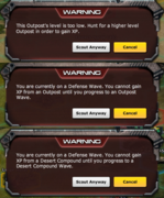 DesertRecon-Warnings