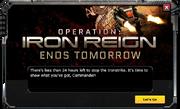 IronReign-EventMessage-5-24hWarning