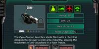 Cryo Cannon Turret