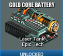 Gold Core Battery