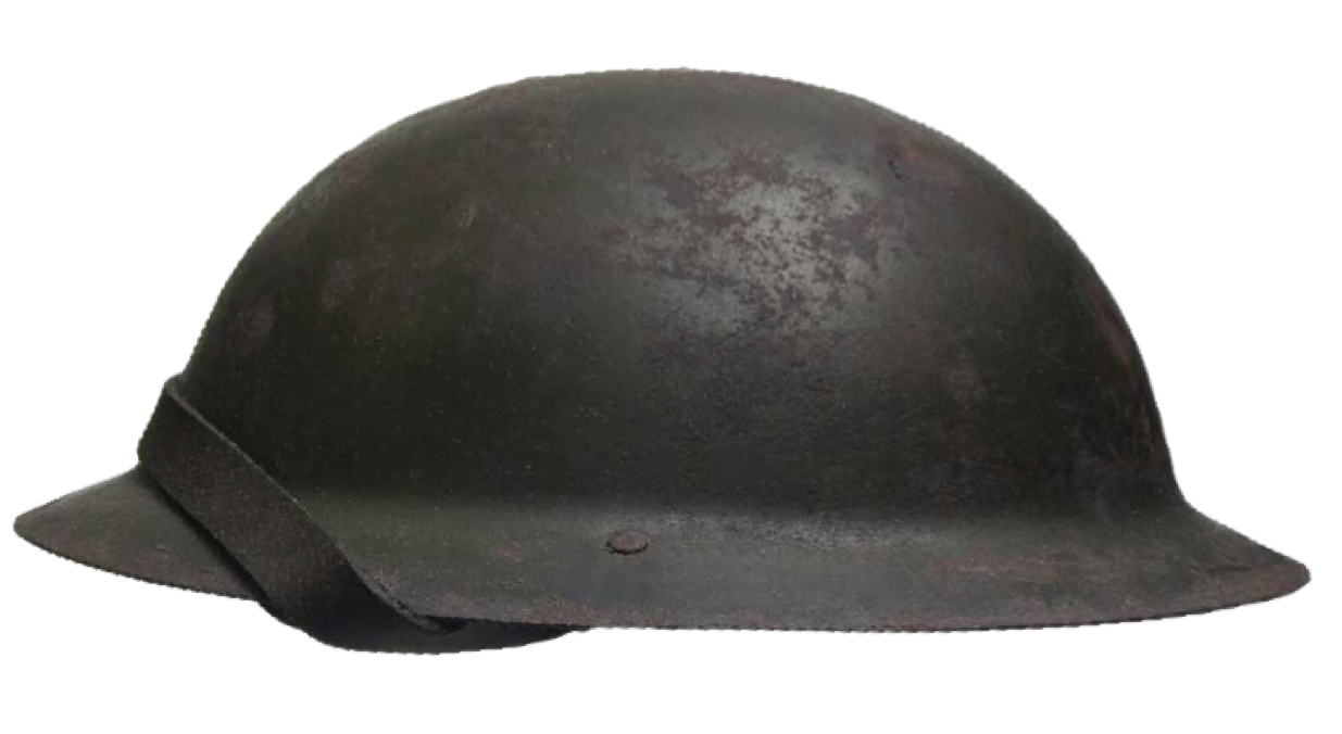 British Wwi Soldier S Helmet From The Battle Of The Somme