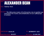 Alexander ''Sawney'' Bean