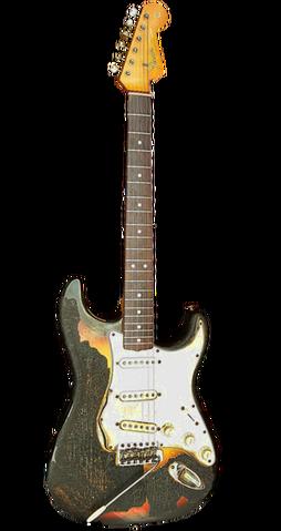 File:Jimi Hendrix's Guitar.png