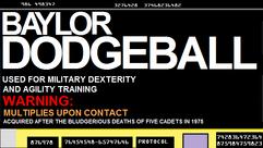 Baylor Dodgeball