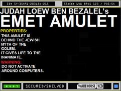 Judah Loew ben Bezalel's Emet Amulet