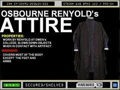 Osbourne Renyold's Attire