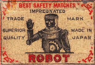 Robot Matchbox Logo
