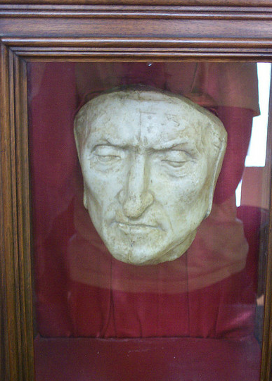 artifacts  warehouse 14  dante alighieri u0026 39 s death mask