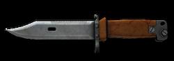 Classic Soviet Knife Render