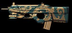 FN F2000 Jade Dragon Render