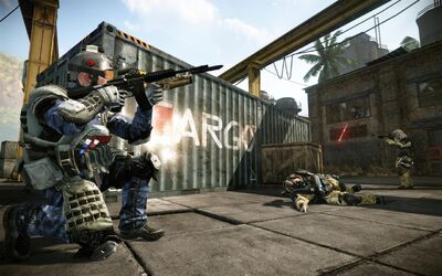 Warface WeapCustom Combat 201