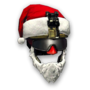 Christmas Helmet Rifleman Render