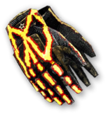 Crown Climbing Gloves Render
