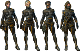 Female Nanosuit Skin