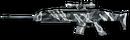 XM8 Sharpshooter Winter Camo Render