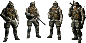 Arctic Uniform Skin
