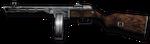 Shpagin PPSh-41 Render